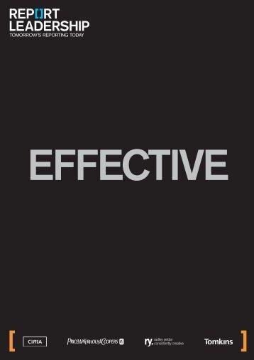 Report Leadership initiative - Lang Communications