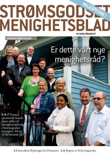 Nr 3. - august 2009 - Den norske kirke i Drammen