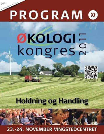 mØdebloK c onsdag 16:15-18:00 - Økologi-Kongres