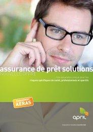 assurance de prêt solutions - April