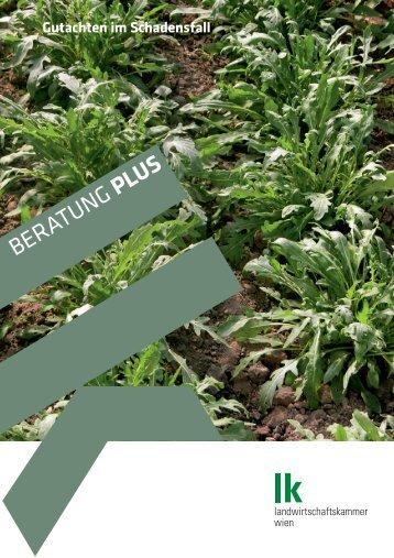 Gutachten im Schadensfall - Landwirtschaftskammer Wien
