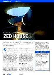 ZED HOUSE - Linux Magazine