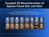 Coupled 3D Reconstruction of Sparse Facial Hair and Skin - Porto ...
