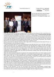 Am 26.3.2012 fand die die jährliche Mitglie - Freie Wähler Landkreis ...