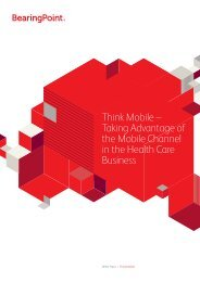 Think Mobile - BearingPoint ToolBox