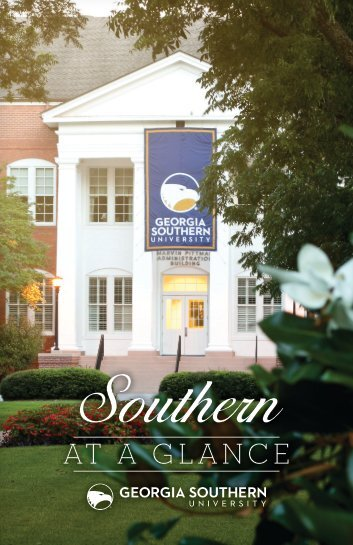 At a Glance - Georgia Southern University