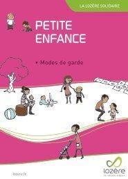 PETITE ENFANCE - Conseil général de la Lozère