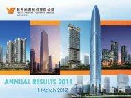 Yuexiu Property 2011 Annual Results Presentation