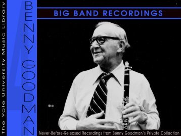 Volume 4: Big Band Recordings - The Orchard