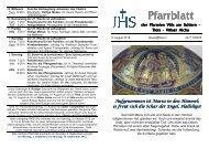 Pfarrblatt 14.8. - 2.9.2012 (193 KB) - .PDF