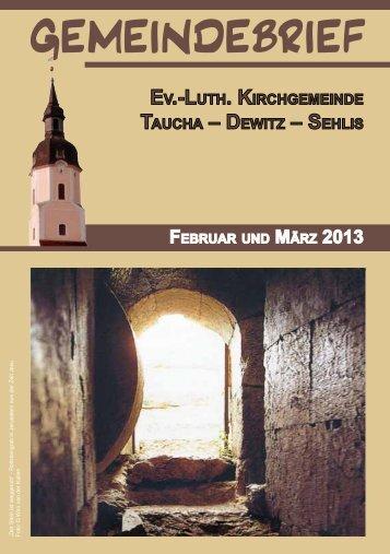 GEMEINDEBRIEF - St. Moritz Taucha