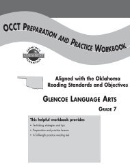 AHSGE Test Preparation and Practice Workbook, Grade 10 - Glencoe