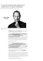 Apple reste un candidat sérieux à la rupture technologique - L'Atelier