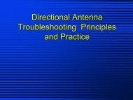 AM Directional Antenna Essentials NAB Spring 2002 DA ...