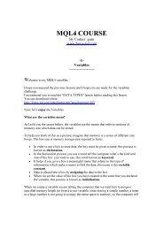 GET] PDF Expert Advisor Programming for Metatrader 5: Creating