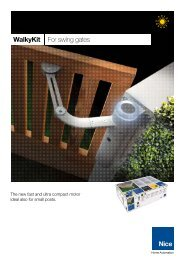 WalkyKit For swing gates - Fagel