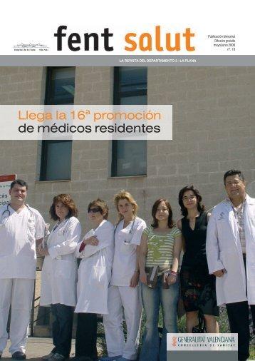 La Plana 10 Fent Salut - Hospital de la Plana - Generalitat Valenciana