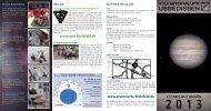 Programm2013.pdf - Volkssternwarte Ubbedissen
