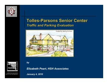 Tolles-Parsons Senior Center
