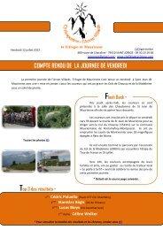 Vendredi 12 juillet - Le Cyclo'Tour