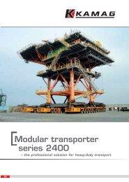 Modular transporter series 2400