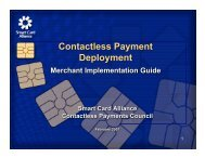 Download presentation - Smart Card Alliance