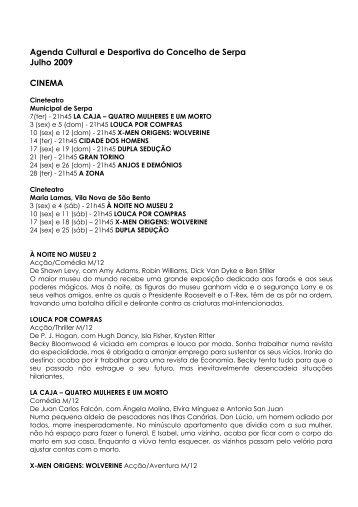 Agenda Cultural e Desportiva do Concelho de Serpa ... - Beja Digital