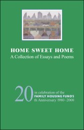 HOME SWEET HOME - Family Housing Fund