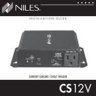 Cs 12v - Niles Audio