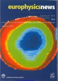 Whole issue in PDF - Europhysics News