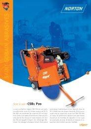 Scie à sol CSB1 P20 - Norton Construction Products