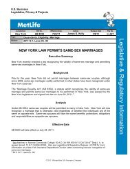 New York Law Permits Same-Sex Marriages - eForms - MetLife
