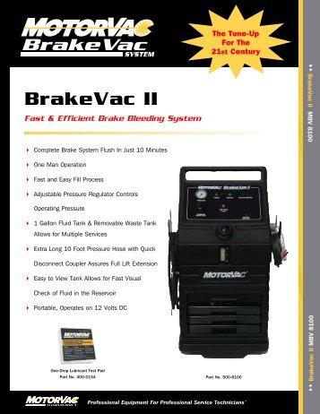Brake - MotorVac