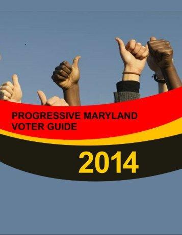 ProgressiveMd-VoterGuide2014