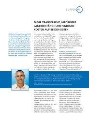 VMI-Prozess bei ZF - SupplyOn