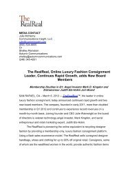 The RealReal, Online Luxury Fashion Consignment Leader ...