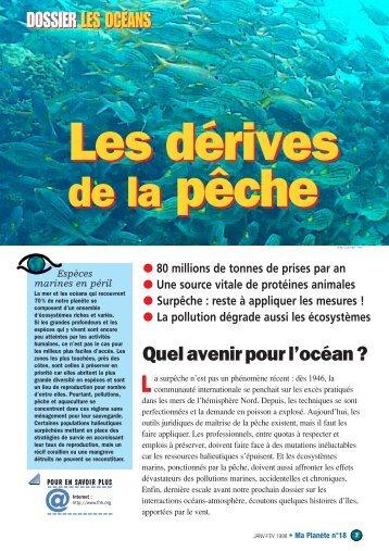 Quel avenir pour l'océan