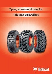 Tyres, wheels and rims for Telescopic Handlers - DM-Ker Kft