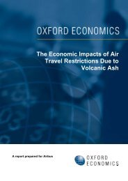 The Economic Impacts of Air Travel Restrictions Due to ... - Airbus