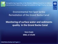 monitoring_vbk_08_09 - Western Balkans Environment Programe