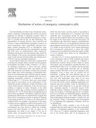 Princeton.edu: Mechanism of Action of Emergency Contraceptive Pills