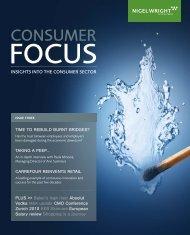 Consumer Focus magazine – Issue 3 - Nigel Wright