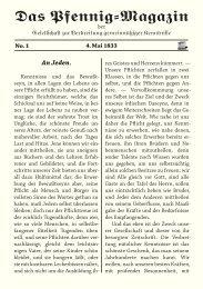 Das Pfennig-Magazin – No. 1 (Ausgabe vom 4. Mai 1833) - Igelity