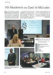 AS-Akademie zu Gast in Münster D - Die Akademie