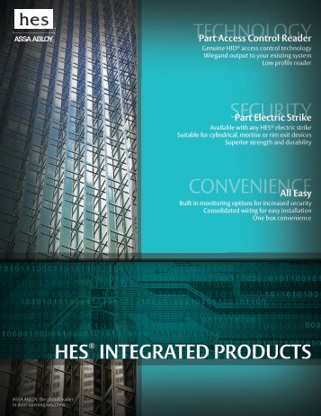 HES® INTEGRATED PRODUCTS
