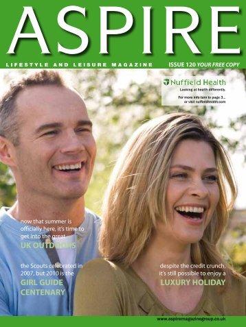 luxury holiday uk outdoors girl guide centenary - Aspire Magazine