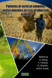 Untitled - IRRI books - International Rice Research Institute