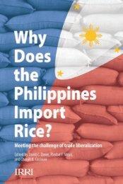Philippines imports - IRRI books - International Rice Research Institute