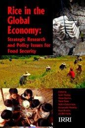 00a-Title pagel.indd - IRRI books - International Rice Research ...