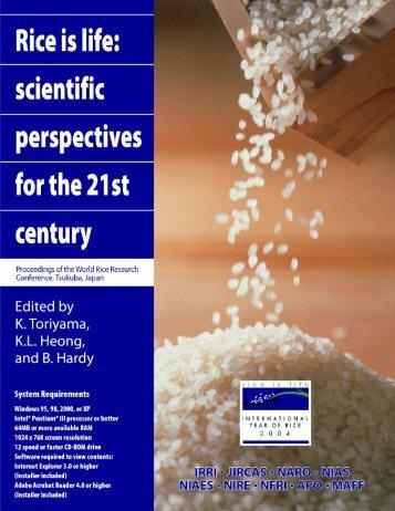 here - IRRI books - International Rice Research Institute